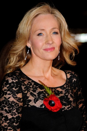 J.K. Rowling Deathly Hallows Premiere