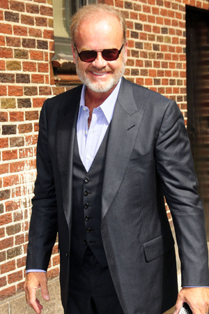 Kelsey Grammer walked out of Piers Morgan Tonight