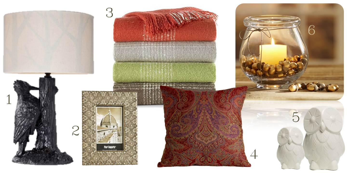 Easy and inexpensive autumn accents