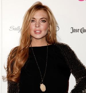 Lindsay Lohan is Elizabeth Taylor