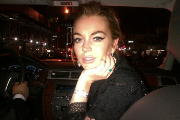 Lindsay Lohan hospitalized yet again