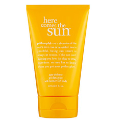 Philosophy's Here Comes the Sun Age-Defense Golden Glow Self Tanner for Body