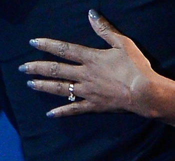 Michelle Obama's trendy nails