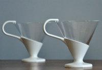 Mid-century modern snap mugs