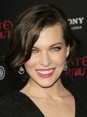 Milla Jovovich Resident Evil premiere