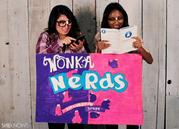 Get extra nerdy with your Nerds Halloween costume