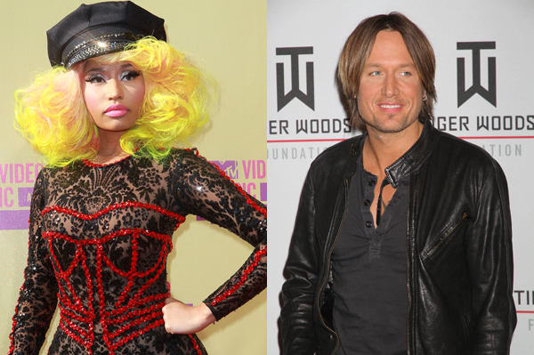 Nicki Minaj and Keith Urban join American Idol