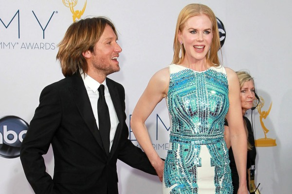 Nicole Kidman and Keith Urban, 2012 Emmys