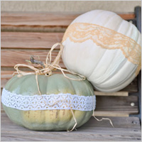 Lace Pumpkins