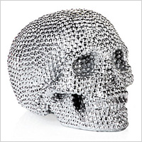 Metallic skull