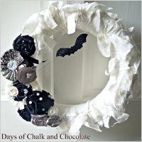 Glam wreath
