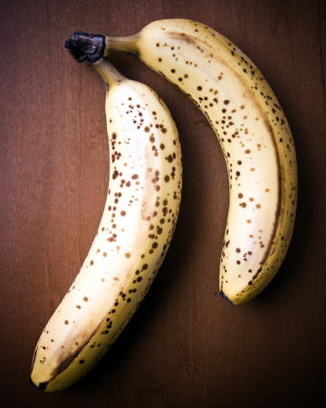 overripe banan