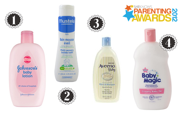 Parenting Awards baby skin care products