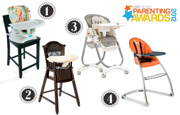 Parenting Awards finalists: High chairs