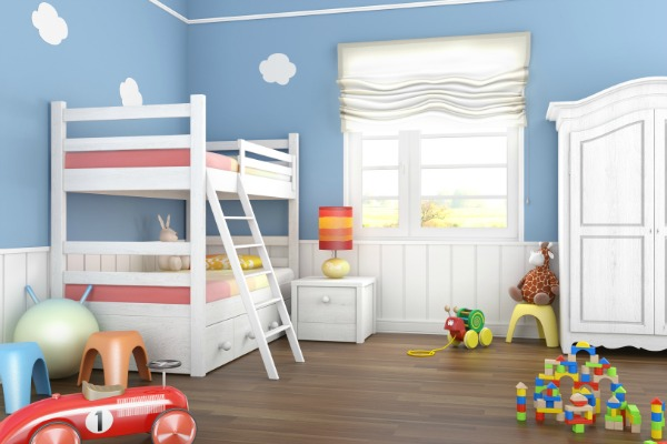 Preschooler's bedroom