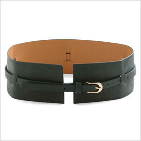 Square cinch belt