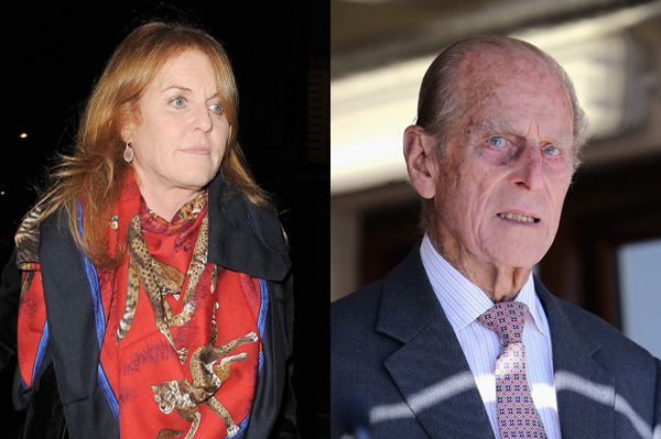 Prince Philip is upset with Sarah Ferguson