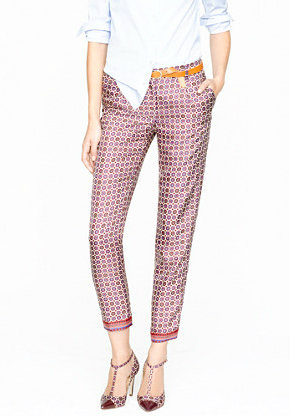 Printed trouser