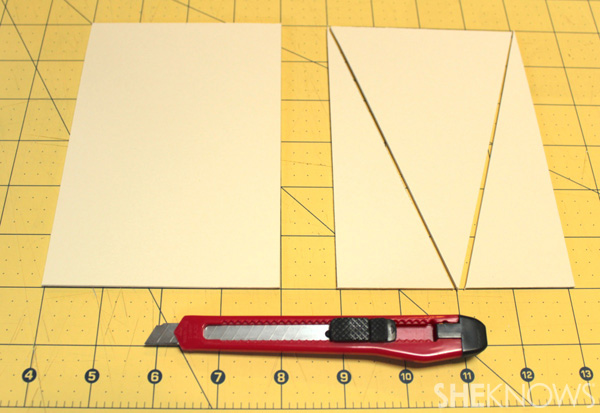 Cut mat board
