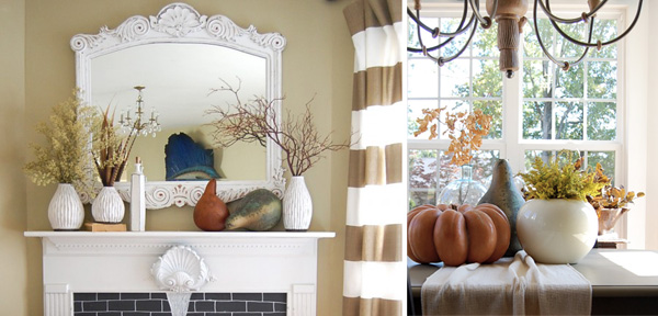 Quick decor changes for fall