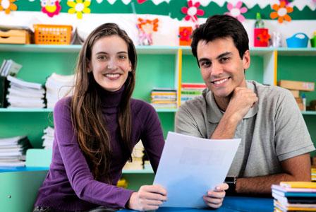 A+ parent-teacher meeting