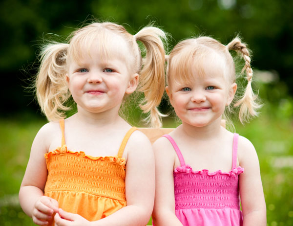 Most popular twin baby girl names