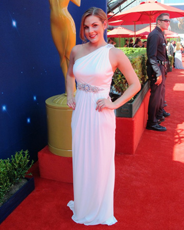 Whitney English at the 2012 Emmy Awards