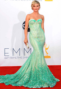 Julianne Hough at the 2012 Emmy Awards