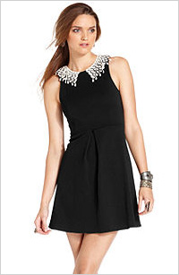 Free People cutout collared dress, $130