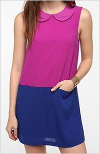 Urban Outfitters colorblocked dress, $69
