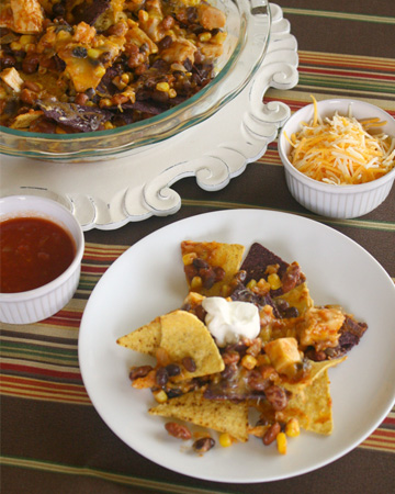 Sunday Dinner: Chicken Chili Nachos