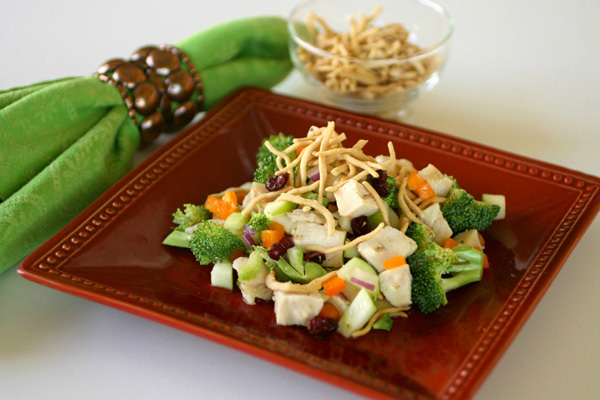 Sunday Dinner: Crunchy Asian-style chicken salad