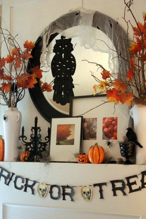 Simple and spooky decorations