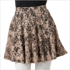 lace skirt from Joe Benbasset.