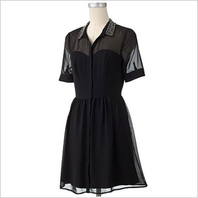 LC Lauren Conrad shirtdress