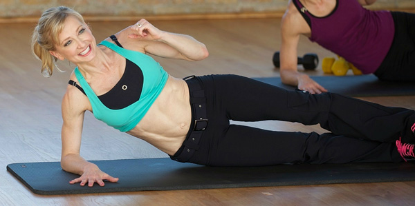 Side Plank with Arm Extension