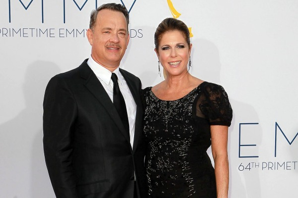 Tom Hanks and Rita Wilson, 2012 Emmy Awards