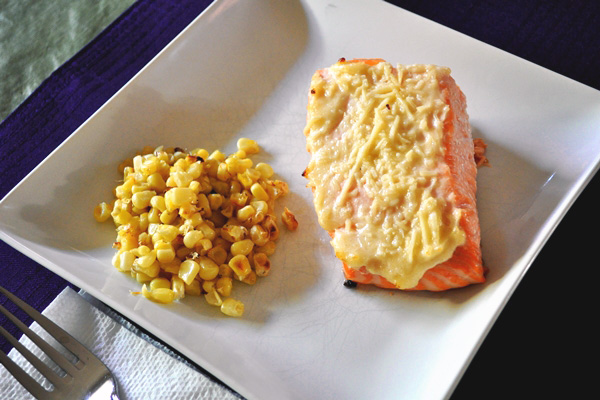 Parmesan salmon recipe