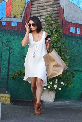 Get Vanessa Hudgens' look without breaking the bank