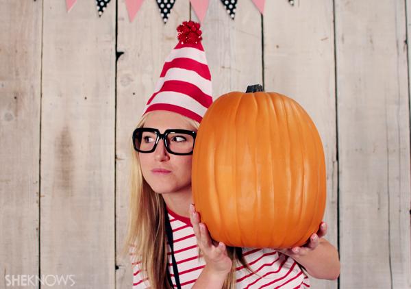 Wheres Waldo homemade Halloween costume