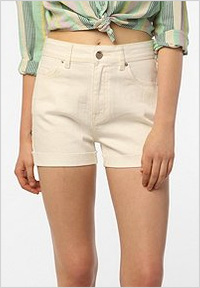 High-wasted shorts