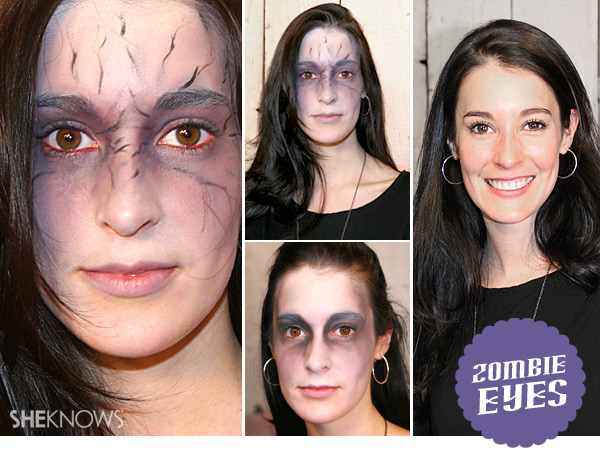 Get the zombie look for Halloween
