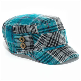 Mudd Plaid Cadet Hat