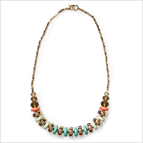 Mixed Color and Mixed Beaded Necklace