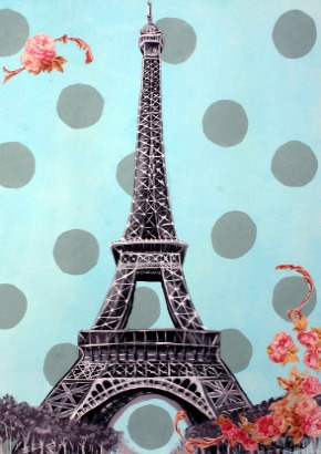Print Picture Eiffel Tower on Etsy Finds  Canvas Prints
