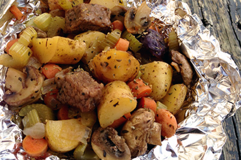 foil pack hobo stew