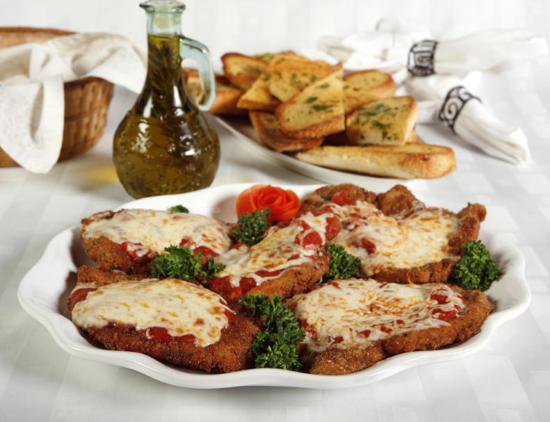 Chicken Parmesan is that classic chicken dish that's smothered in ...
