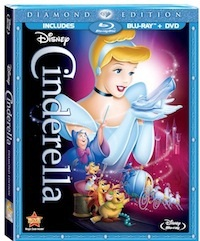 Cinderella on bluray