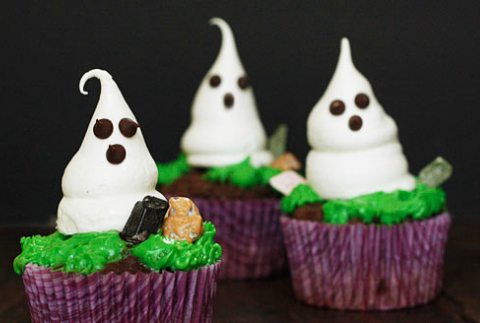 Meringue ghost recipe