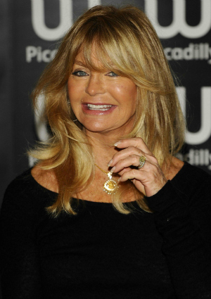 Goldie Hawn at a Book Signing in London